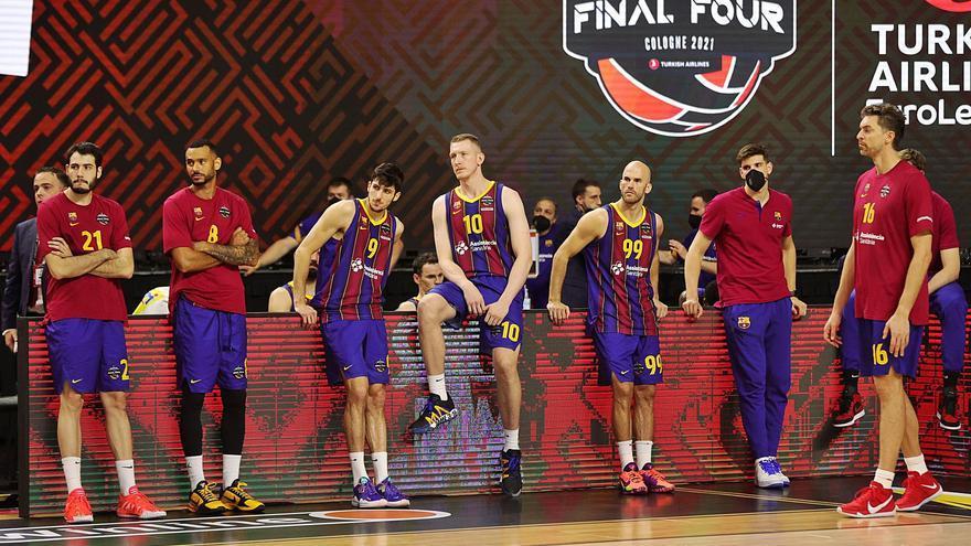 El Barça se ahoga en la final