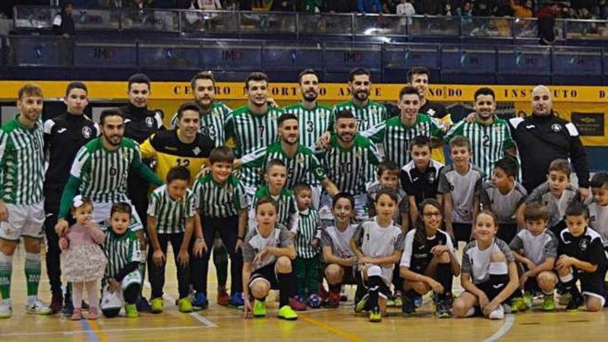 El L. Valderaduey se divierte en Sevilla con el Real Betis FS