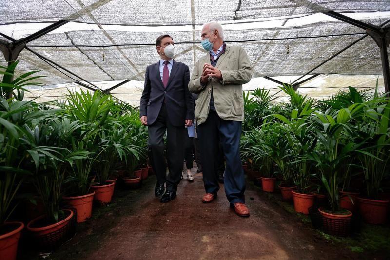 Visita del ministro de Agricultura, Luis Planas