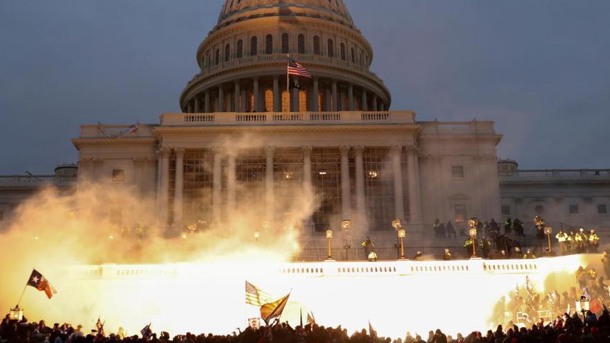 El legado en llamas de Trump
