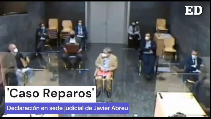 Declaración en sede judicial de Javier Abreu
