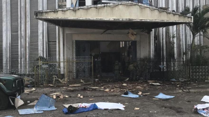 Al menos 27 víctimas mortales en un atentado en Filipinas