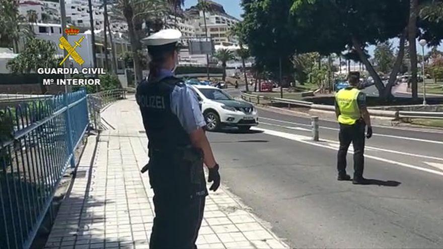 Canarias refuerza sus patrullas policiales de Guardia Civil con agentes alemanes y carabineri italianos
