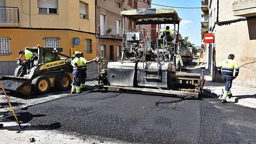 Avui s'inicia la renovació de paviments al Centre Històric