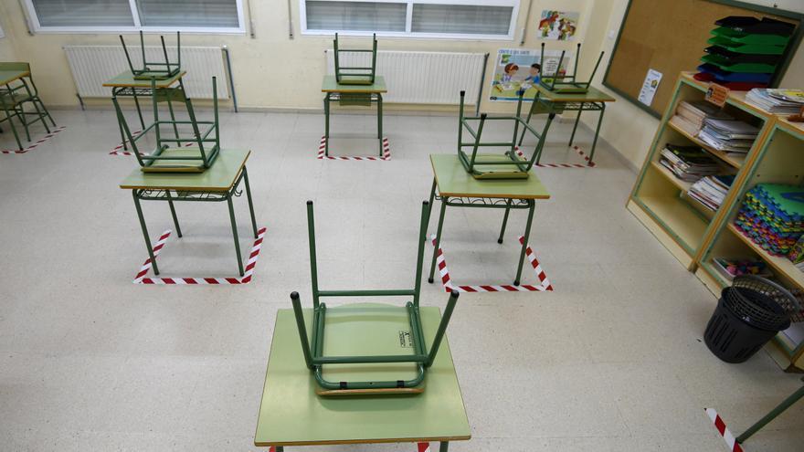 Los casos COVID en colegios no bajan de 600