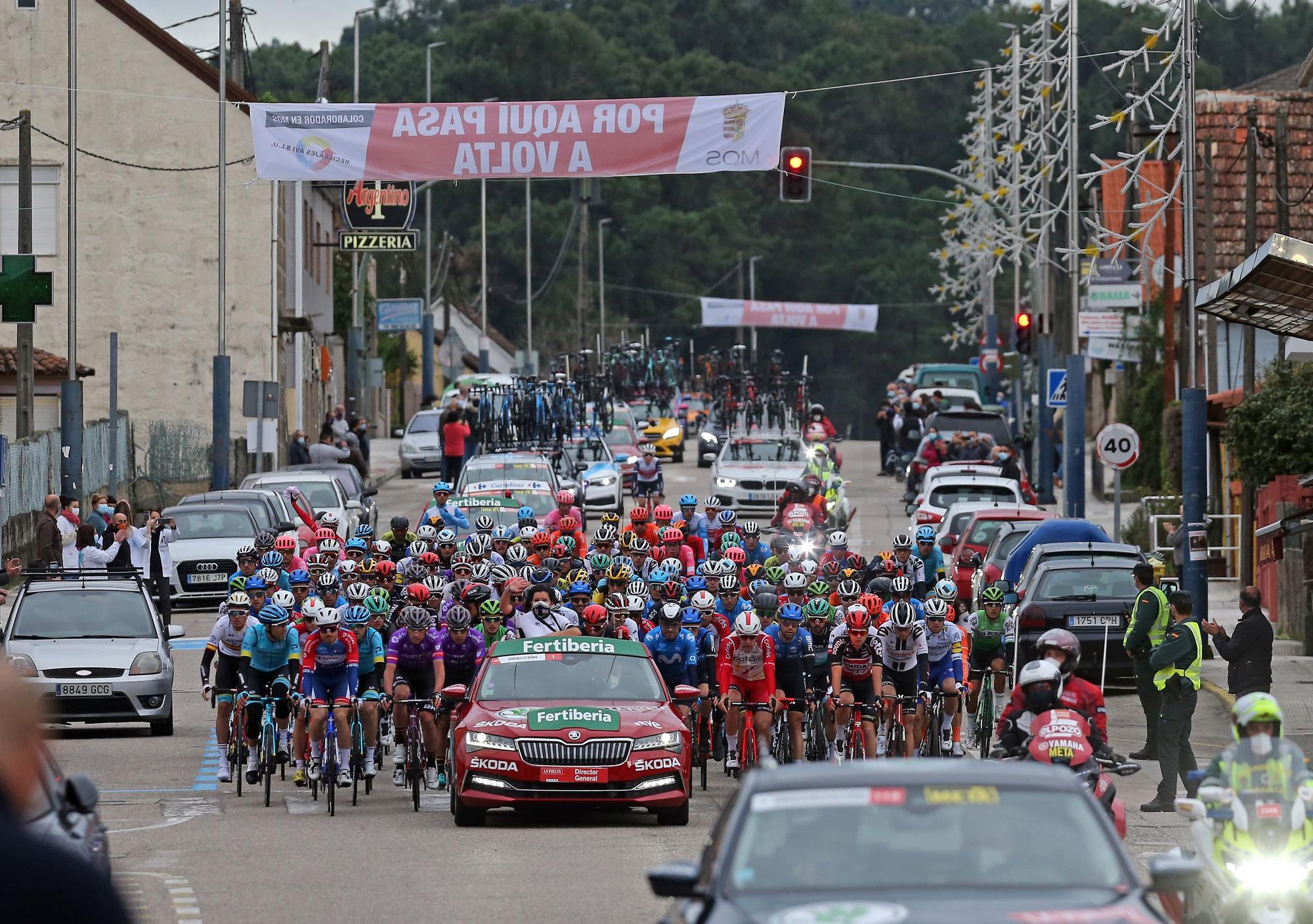 15ª etapa de la Vuelta Ciclista a España, a su paso por Mos.
