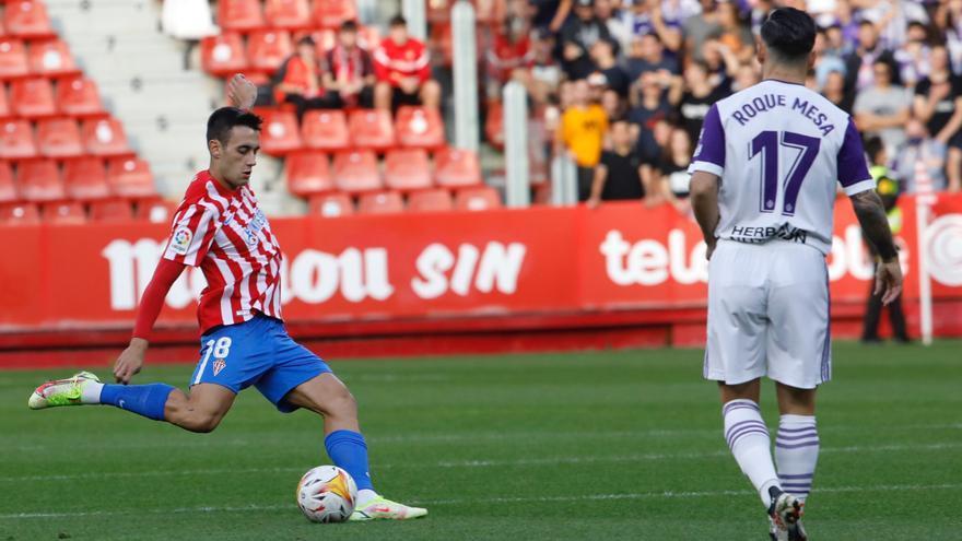 La crónica del Sporting-Valladolid: victoria para quien golpea más fuerte