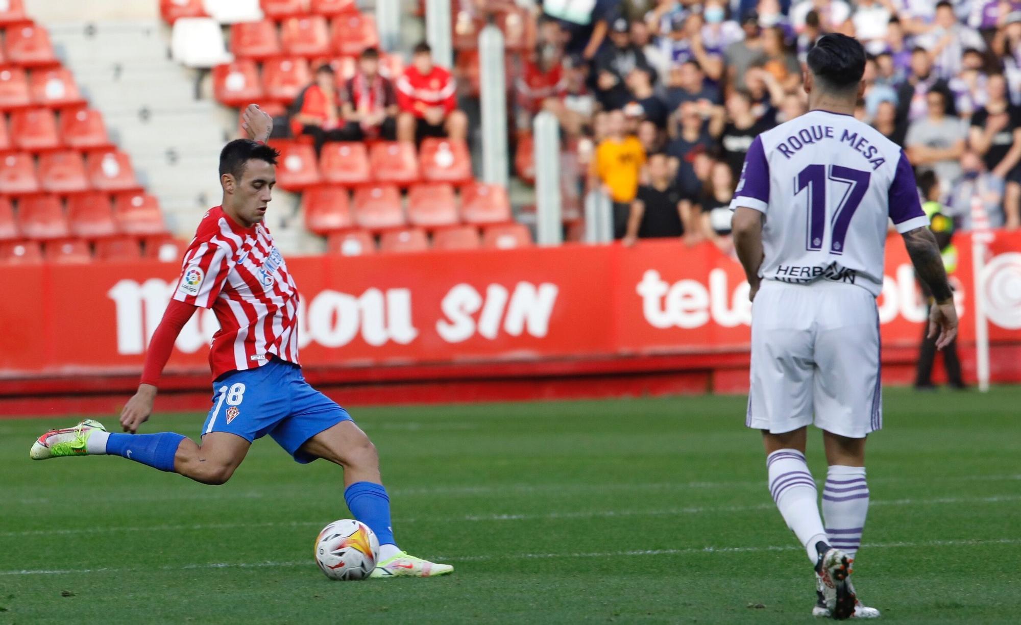 Sporting - Valladolid, en imágenes