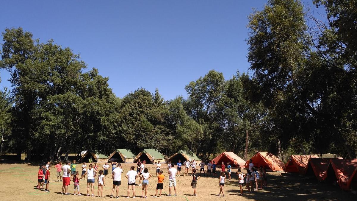 Campamento de verano en Sanabria