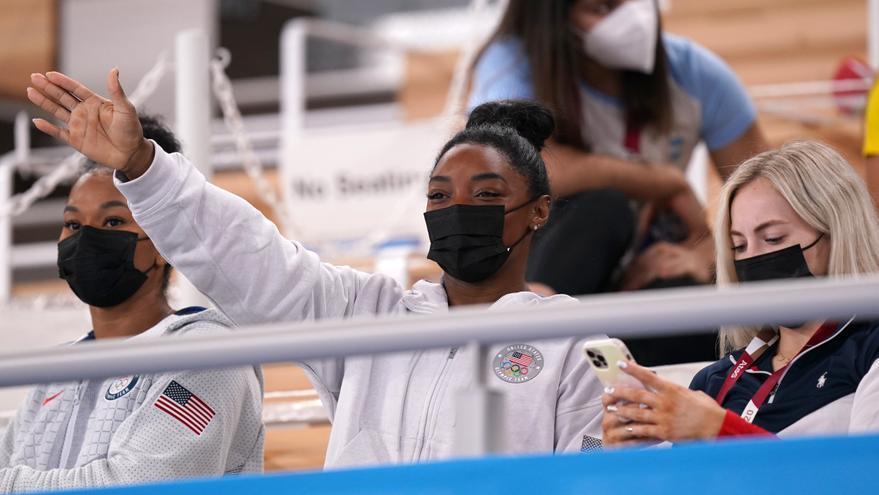Simone Biles decide no competir en las finales de salto y barras asimétricas