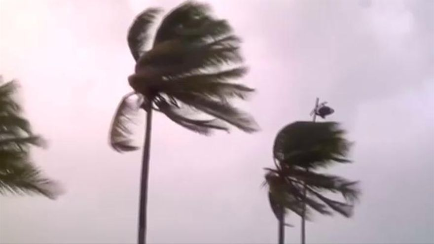 El huracán María alcanza la categoría 5 en su camino hacia Puerto Rico