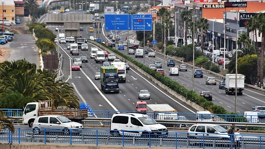 El Gobierno aliviará el tráfico de la GC-1 por Telde con carriles de servicio