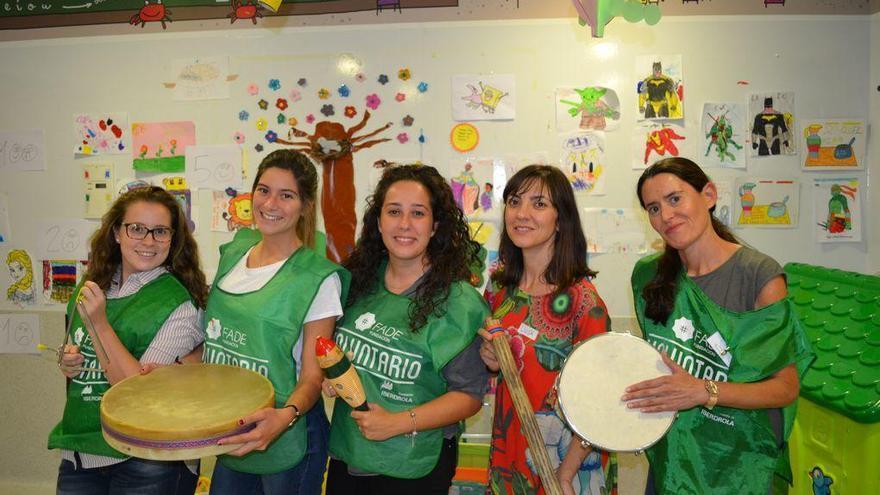 Musicoterapia para aliviar la estancia de niños en el Santa Lucía
