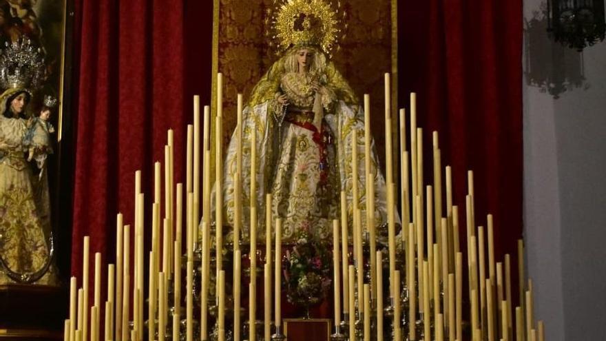 La hermandad de la Paz retoma el programa de actos con motivo de la Coronación Pontificia