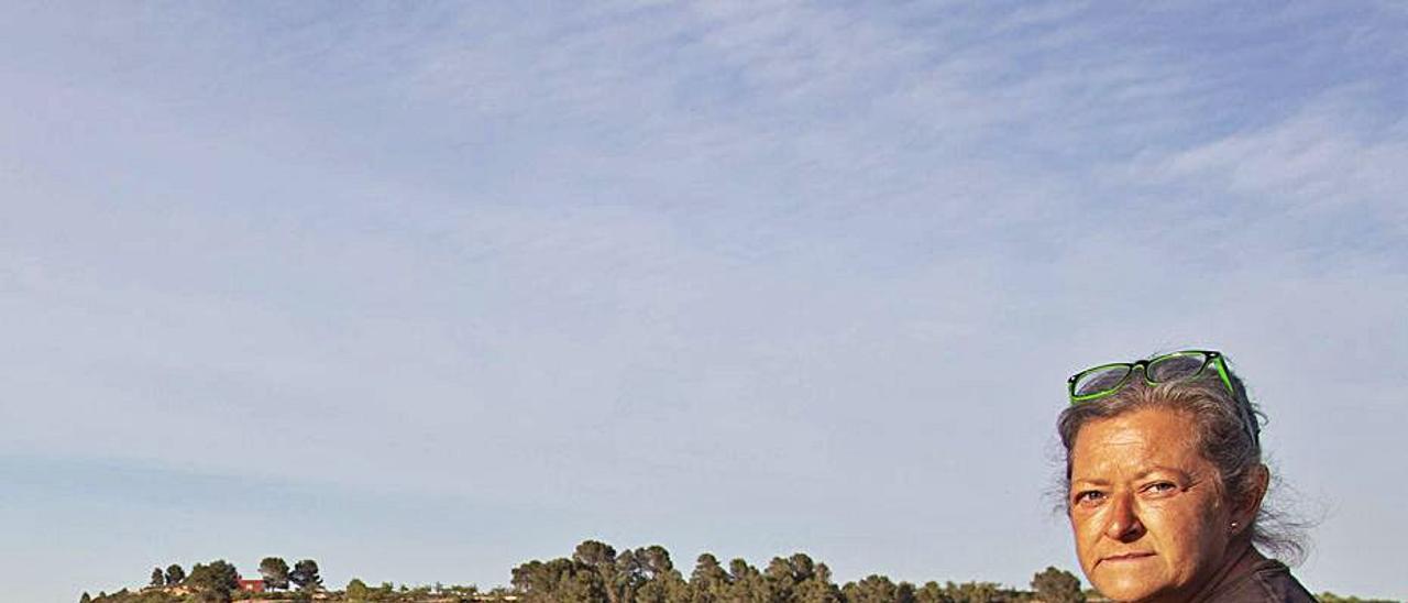 Beneyto, una de las agricultoras contactadas por promotoras | PERALES IBORRA