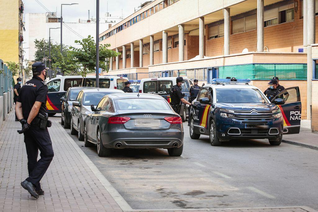 Intervención policial. Menudeo, gallos y tortugas en Ministriles, Lorca-3543.jpg