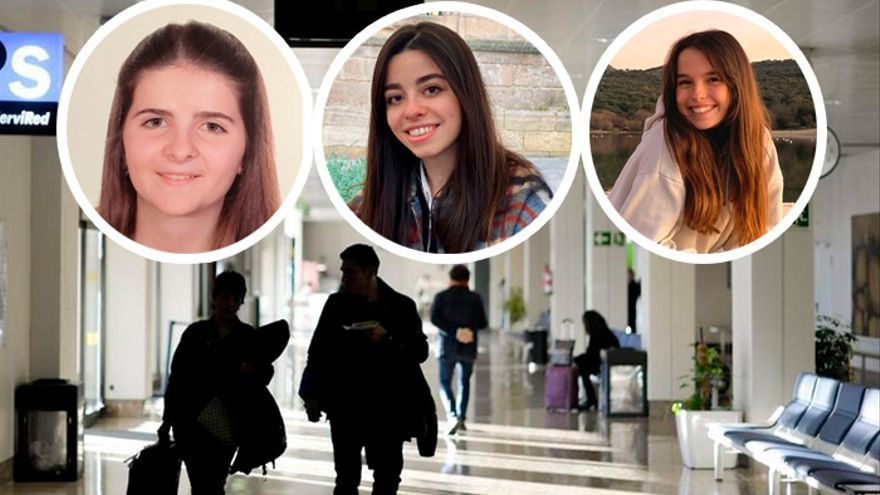 """Alivio entre los estudiantes asturianos que viven fuera: """"No dejarnos volver a casa en Semana Santa era una barbaridad"""""""