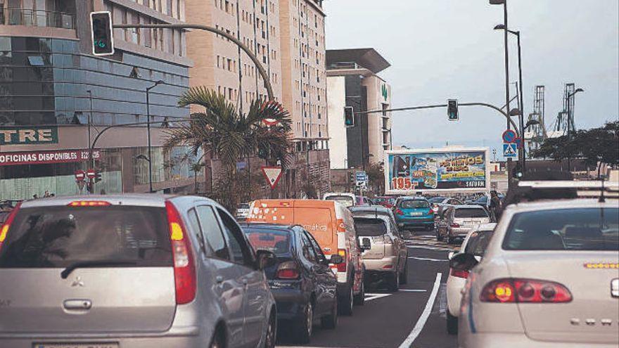 Los semáforos se apagan en el centro de Santa Cruz