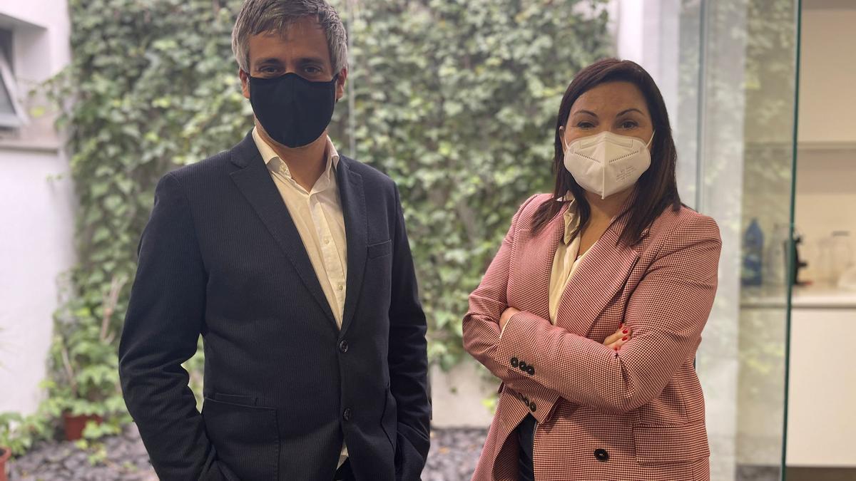 Emilio Angulo y Cristina Plumed