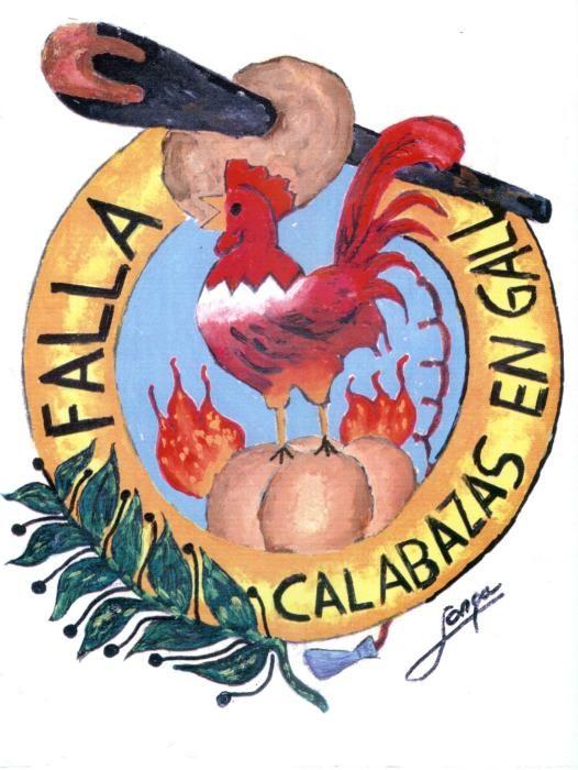 """Calabazas-En Gall, también con productos de mercado,como la del Mercado Central, del que también es vecino, pero aquí incluyendo la """"Calabaza"""" y el """"Gall""""."""