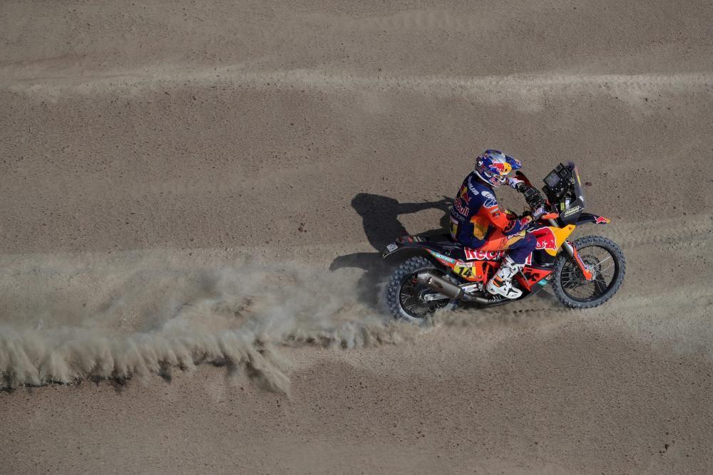 Las imágenes de la novena etapa del Dakar
