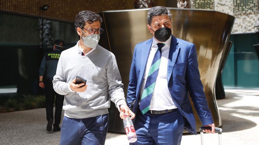 Jesús León presta declaración ante el juez durante cinco horas por el 'caso Córdoba CF'