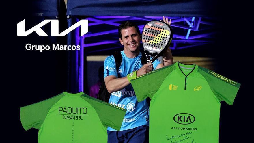 ¿Quieres ganar una camiseta firmada de Paquito Navarro?