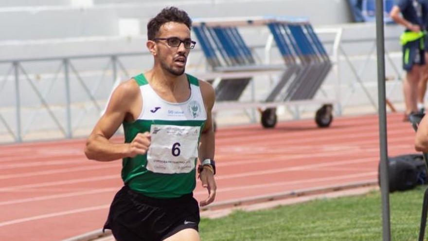 Juan Ignacio Grondona correrá la final del 1.500 en el Nacional de atletismo