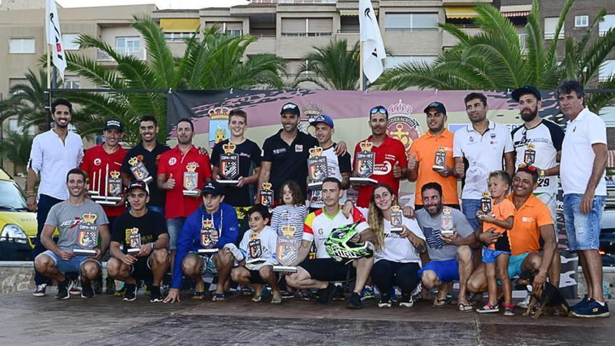 Mazarrón disfruta con la Copa del Rey de motos de agua