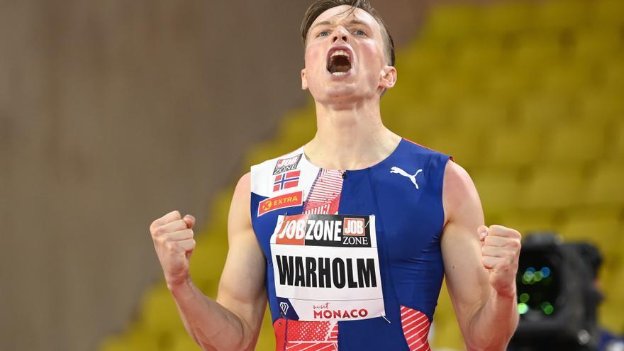 Warholm bate el récord mundial de 400 metros vallas, vigente desde Barcelona 92