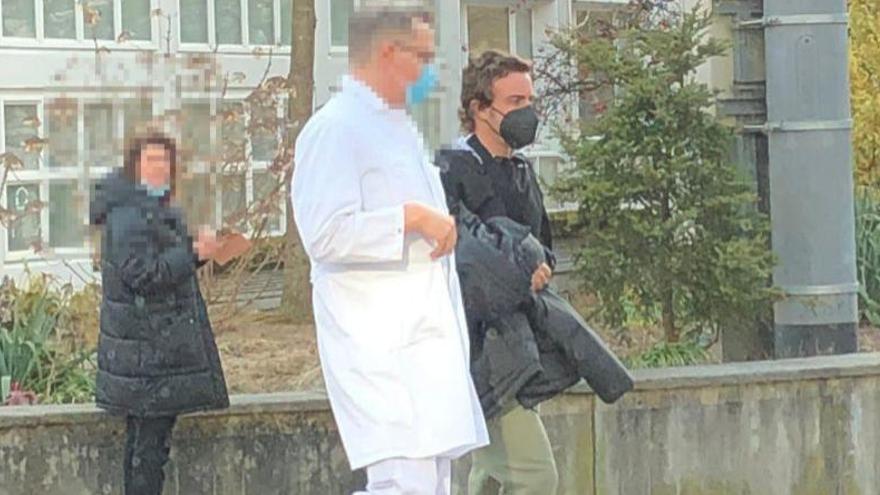 Fernando Alonso abandona el hospital de Berna donde fue operado tras su accidente