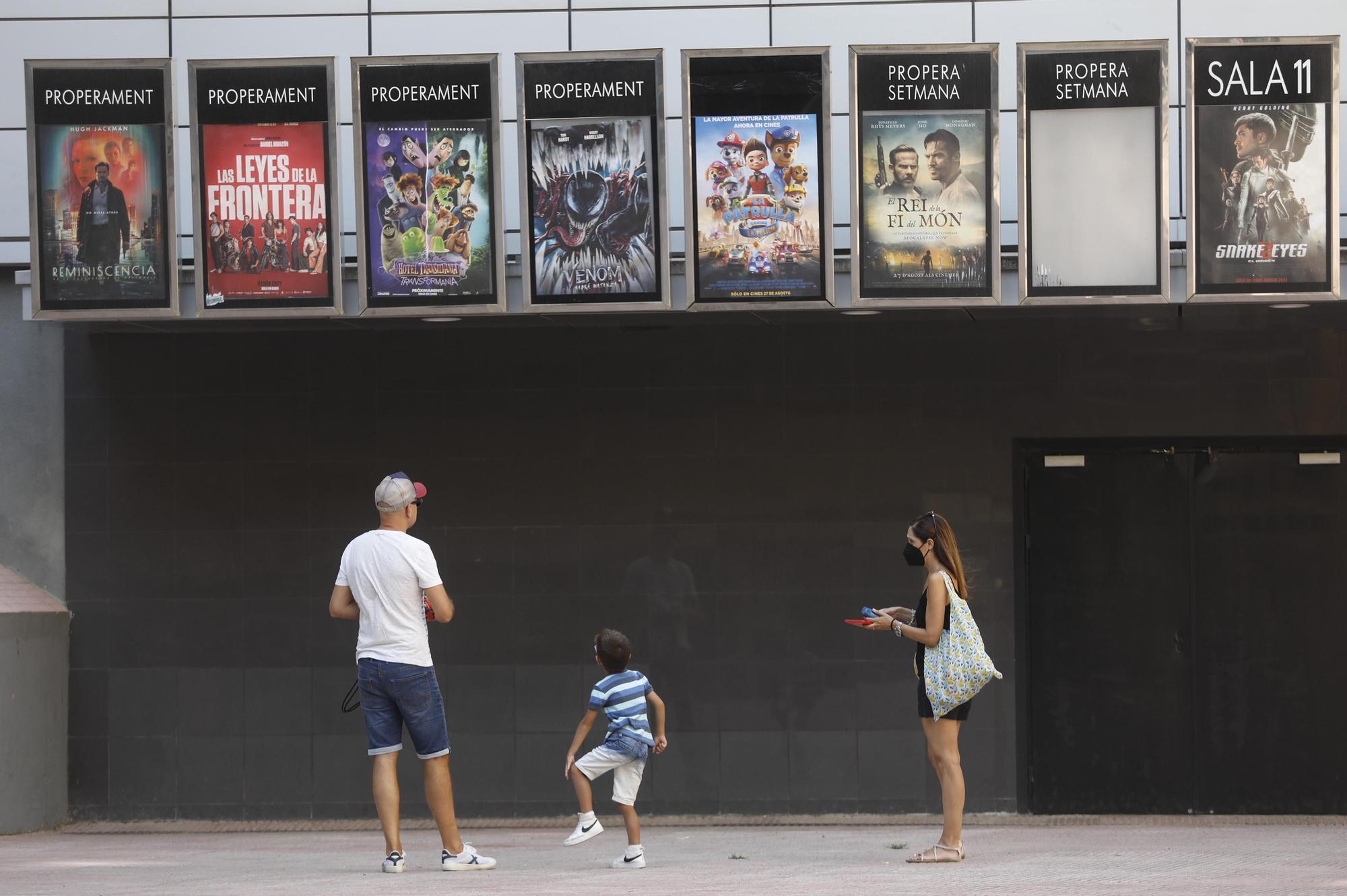 El reclam d'estrenes de l'estiu no aconsegueix reflotar els cinemes