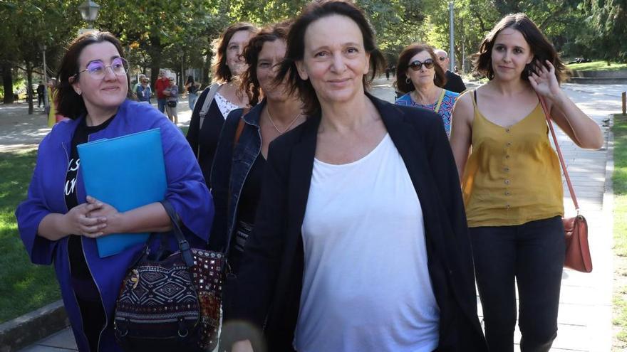 """Bescansa aplaza su decisión sobre Podemos Galicia y tacha de """"provocaciones personales"""" los ataques de Iglesias"""