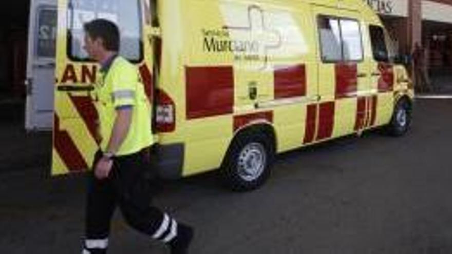 Herido grave un chico de 16 años accidentado con una moto de cross en Totana