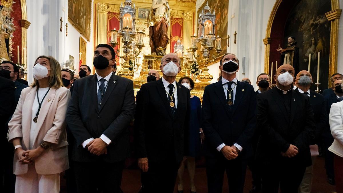 Pablo Atencia y otros hermanos mayores, este Domingo de Resurrección en San Julián