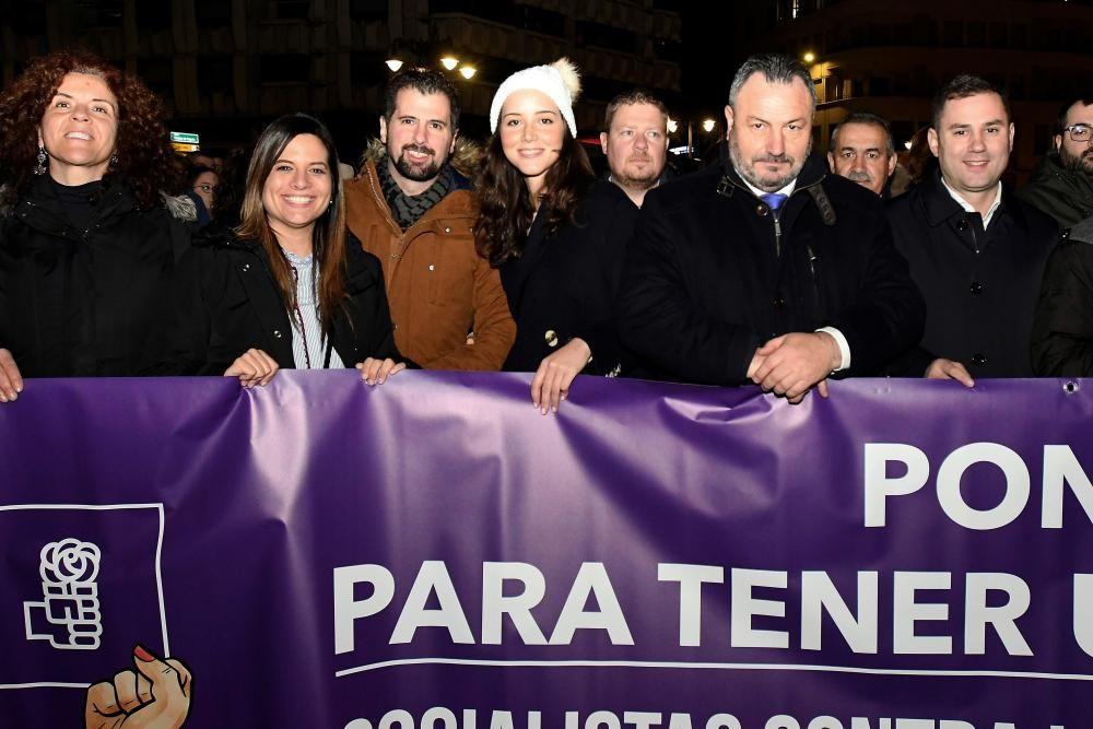 Manifestación en León por Día Internacional ...
