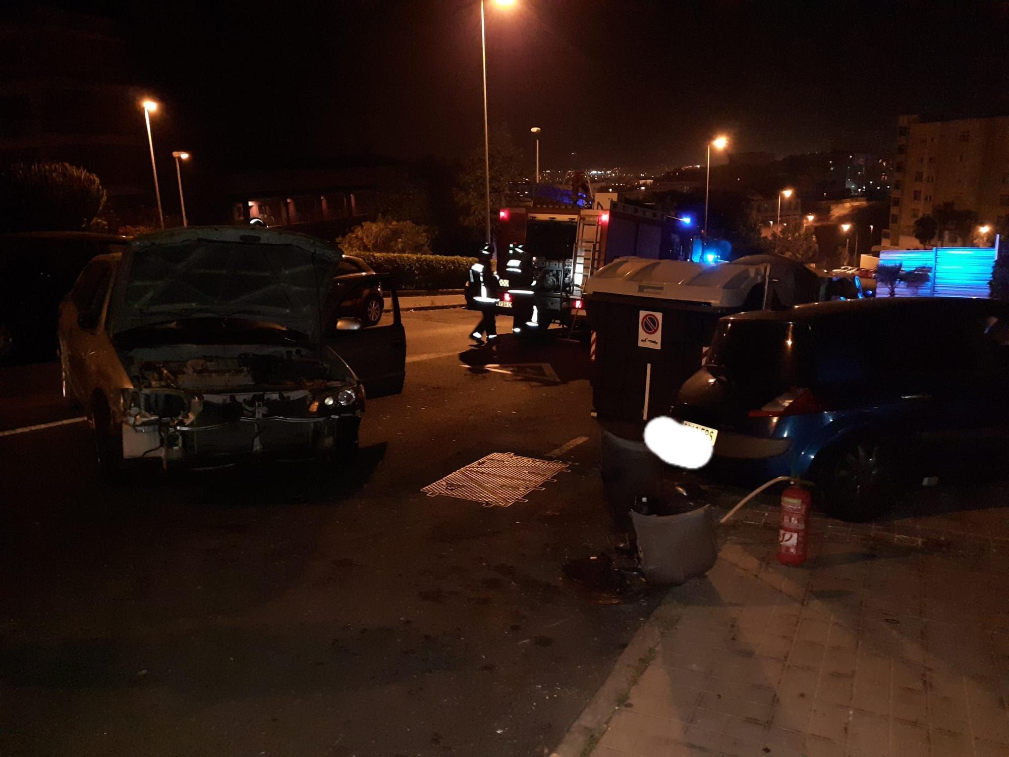 Aparatoso accidente de madrugada en Gran Canaria (19/07/21)