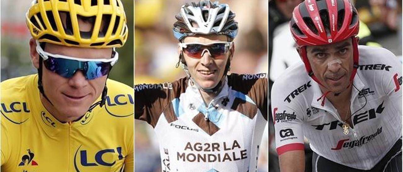Los favoritos para la Vuelta a España 2017