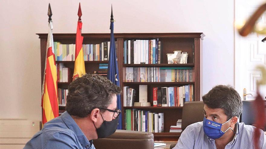 Cs se reivindica en el Fondo de Cooperación: quiere mediar entre el Consell y la Diputación