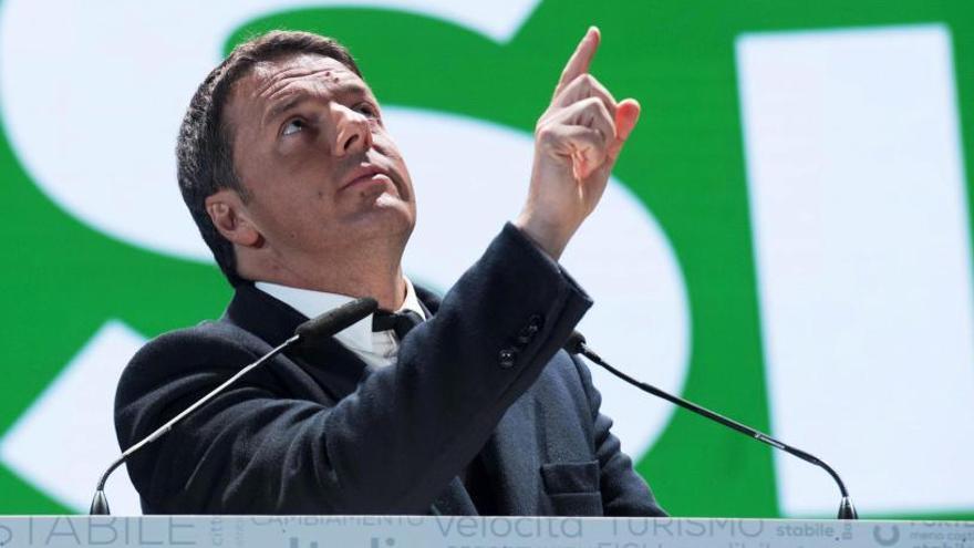 Renzi cierra la campaña y promete una Italia más creíble