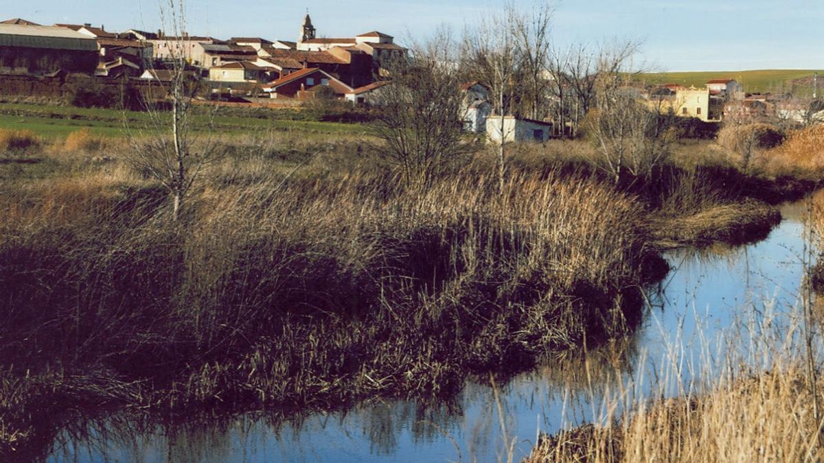 Aspariegos, uno de los pueblos de la Mancomunidad Tierra de Campos-Pan-Lampreana.