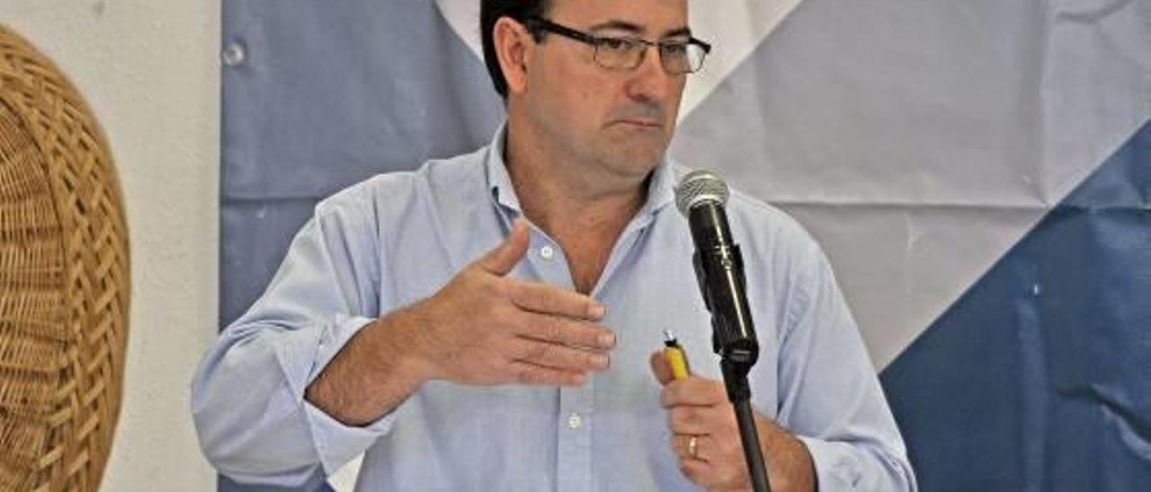 El portavoz del PSPV destituido, Rafael Gisbert.