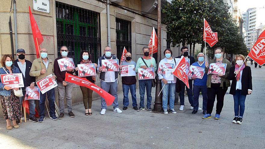 Concentración para rechazar los ataques de la ultraderecha en Italia
