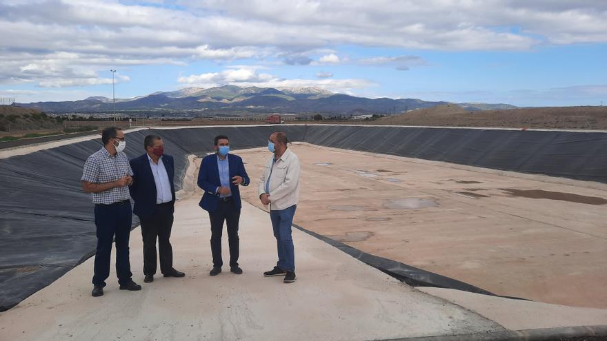 Finaliza la construcción del tanque de tormentas y laminación de caudales de Totana