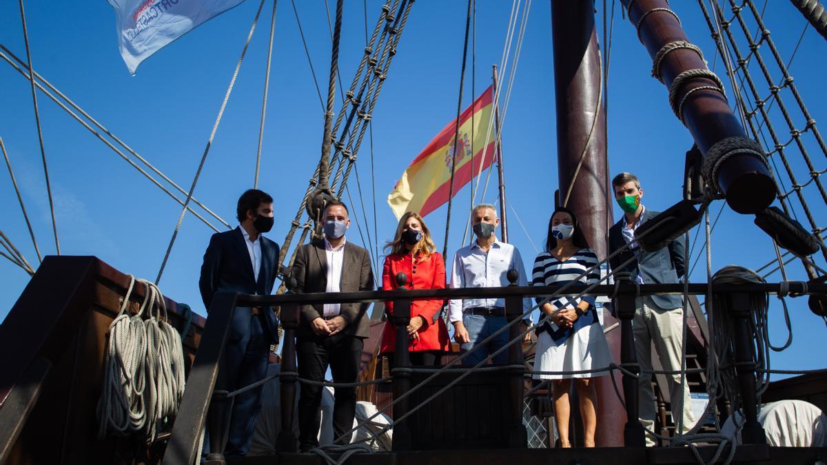 La alcaldesa Amparo Marco en Escala a Castelló.