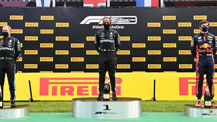 Hamilton encapçala el doblet de Mercedes a Red Bull Ring i Sainz acaba novè