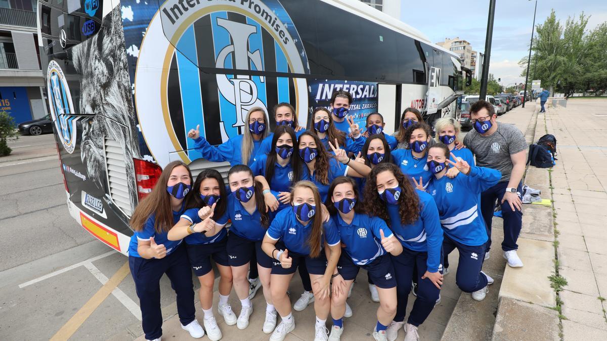 El Intersala parte en autobús hacia Madrid para disputar la Copa de la Reina.