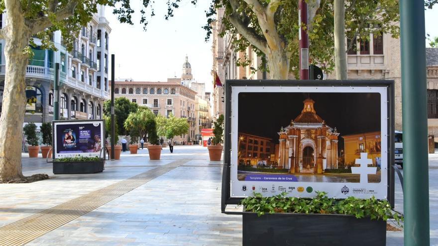 Una exposición fotográfica promociona la 40 Semana Nacional de Teatro de Caravaca en Murcia