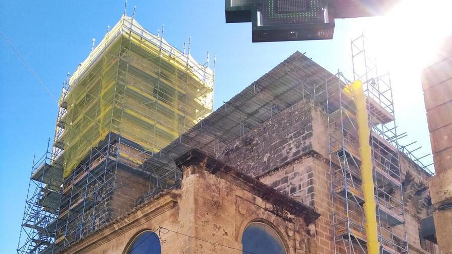Obras con mal fario en Xàbia
