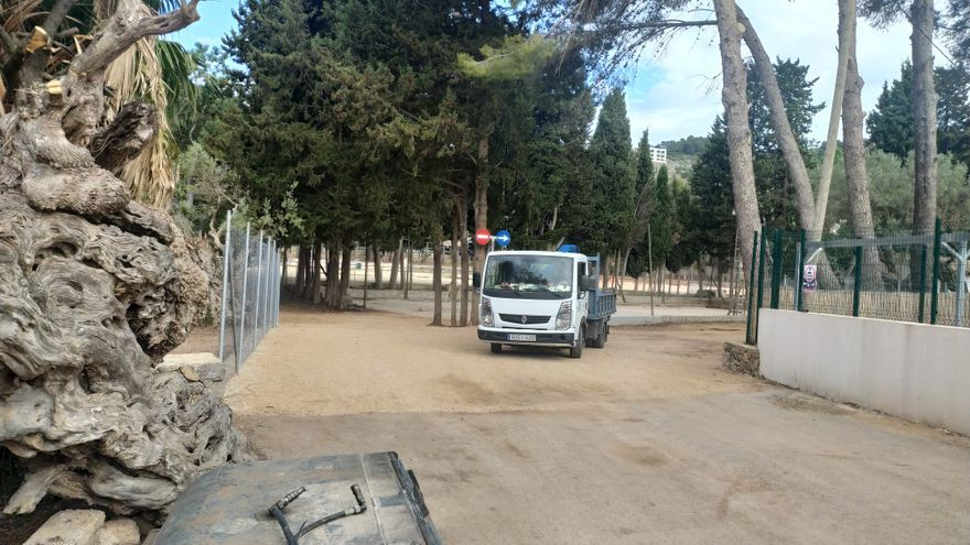 Los vecinos del Port de Sóller exigen que el aparcamiento provisional sea solo para este verano